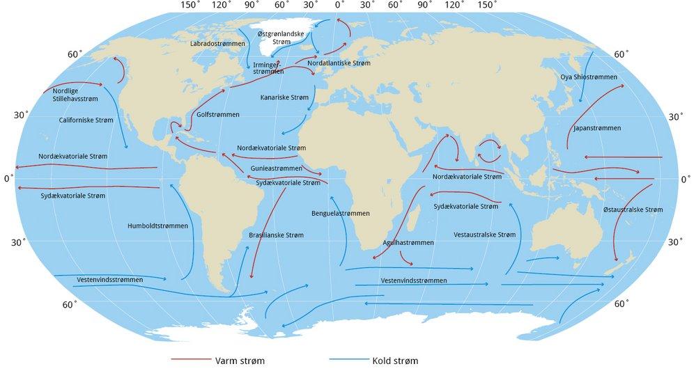 verdenshavene kort