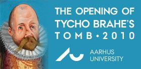 The opening of Tyco Brahe's tomb - 2010